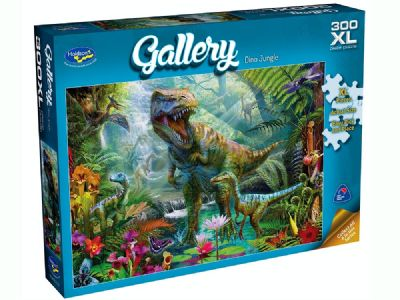 300 pce XXL Gallery Dino Jungle