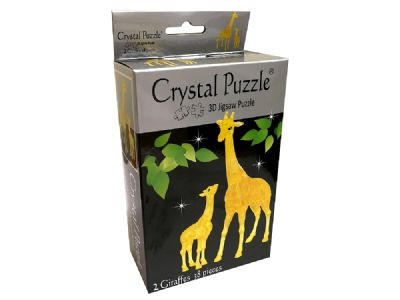 3D Crystal Puzzle Giraffes